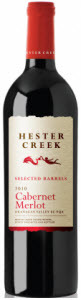 Hester Creek Cabernet Merlot 2010, BC VQA Okanagan Valley Bottle