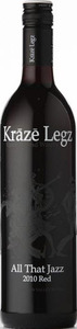 Kraze Legz All That Jazz 2010, BC VQA Okanagan Valley Bottle