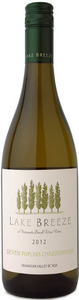 Lake Breeze 7 Poplars Chardonnay 2011, BC VQA Okanagan Valley Bottle
