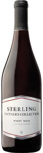 Sterling Vintners Collection Pinot Noir 2011, Central Coast, California Bottle