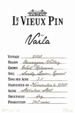 Le Vieux Pin Vaila Rosé 2012, Okanagan Valley Bottle