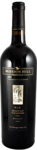 Mission Hill Merlot Select Lot 2010, BC VQA Okanagan Valley Bottle