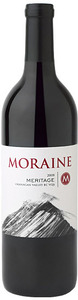 Moraine Red Meritage 2008, BC VQA Okanagan Valley Bottle