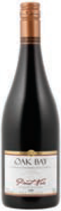 Oak Bay Pinot Noir 2007, BC VQA Okanagan Valley Bottle