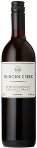 Tinhorn Creek Cabernet Franc 2010, BC VQA Okanagan Valley Bottle