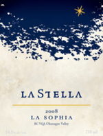 La Stella La Sophia Cabernet Sauvignon 2008, Okanagan Valley Bottle