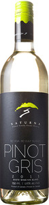 Saturna Pinot Gris 2011, BC VQA Gulf Islands Bottle