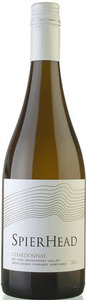 Spierhead Chardonnay 2010, BC VQA Okanagan Valley Bottle