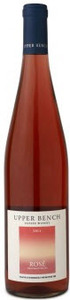 Upper Bench Rose 2012, BC VQA Okanagan Valley Bottle