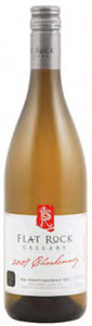 Flat Rock Cellars Chardonnay 2010, VQA Twenty Mile Bench, Niagara Peninsula Bottle
