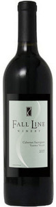 Fall Line Cabernet Sauvignon 2007, Yakima Valley Bottle