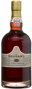 Graham's 40 Year Old Tawny Port Bottle