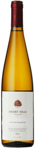 Desert Hills Gewurztraminer 2012, BC VQA Okanagan Valley Bottle