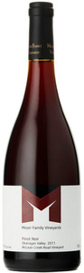 Meyer Family Pinot Noir Mclean Creek Road Vineyard 2011, BC VQA Okanagan Valley Bottle