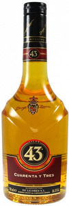 Diego Zamora Licor 43, Spain Bottle