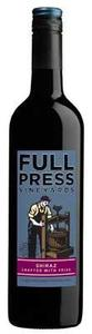 Full Press   Shiraz Bottle