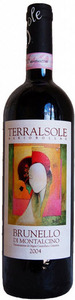 Brunello Di Montalcino   Terralsole 2004 Bottle