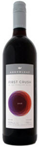 Arrowleaf First Crush Red 2009, BC VQA Okanagan Valley Bottle