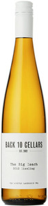 Back 10 Cellars The Big Reach Riesling 2012, VQA Lincoln Lakeshore Bottle