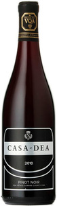 Casa Dea Pinot Noir 2010, VQA Prince Edward County Bottle