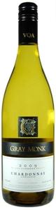 Gray Monk Chardonnay Unwooded 2009, BC VQA Okanagan Valley Bottle