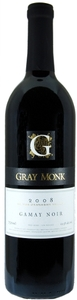 Gray Monk Gamay Noir 2008, BC VQA Okanagan Valley Bottle