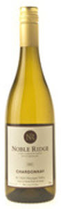 Noble Ridge Chardonnay 2007, BC VQA Okanagan Valley Bottle