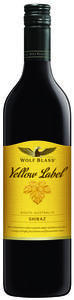 Wolf Blass Yellow Label Shiraz 2008, South Australia Bottle