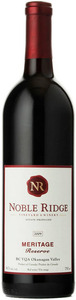 Noble Ridge Meritage Reserve 2009, VQA Okanagan Valley Bottle