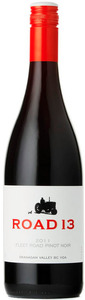 Road 13 Fleet Road Pinot Noir 2011, Okanagan Valley Bottle