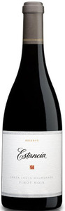 Estancia Reserve Pinot Noir 2009, Santa Lucia Highlands Bottle