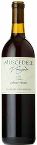Muscedere Vineyards Cabernet Franc 2011, VQA Lake Erie North Shore Bottle