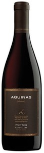 Aquinas Pinot Noir 2010, Napa Valley Bottle