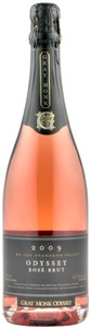Gray Monk Odyssey Rose Brut 2009, BC VQA Okanagan Valley Bottle