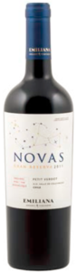 Emiliana Novas Petit Verdot 2011, Colchagua Valley Bottle