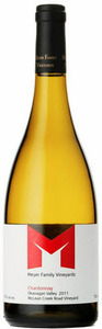 Meyer Family Mclean Creek Vineyard Chardonnay 2007, BC VQA Okanagan Valley Bottle