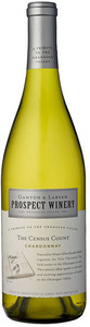 Prospect Census Count Chardonnay 2009, BC VQA British Columbia Bottle