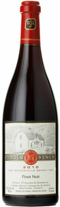 Hidden Bench Estate Pinot Noir 2010, VQA Beamsville Bench, Niagara Peninsula Bottle