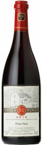 Hidden Bench Estate Pinot Noir 2008, VQA Beamsville Bench, Niagara Peninsula Bottle