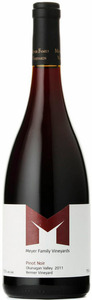 Meyer Pinot Noir Reimer Family Vineyard 2011, Okanagan Valley Bottle