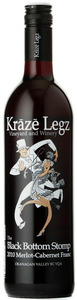 Kraze Legz Black Bottom Stomp 2009, BC VQA Okanagan Valley Bottle