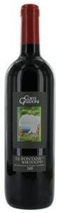 Corte Gardoni Bardolino Le Fontane 2012, Doc Bardolino Bottle