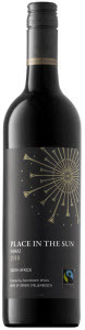 Place In The Sun Shiraz 2012, Stellenbosch Bottle