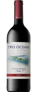 Two Oceans Cabernet Sauvignon Merlot 2012, Western Cape Bottle