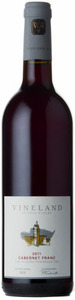 Vineland Estates Cabernet Franc 2011, Niagara Peninsula Bottle