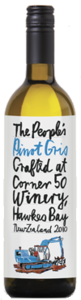 The People's Wine Pinot Gris 2012, Hawkes Bay, North Island Bottle