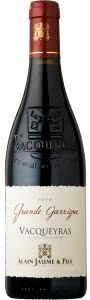Alain Jaume Grande Garrigue Vacqueyras 2010 Bottle