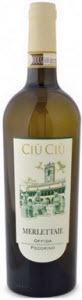 Ciù Ciù Merlettaie Pecorino Offida 2011, Docg Bottle