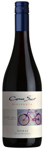 Cono Sur Bicicleta Shiraz 2012 Bottle