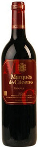 Marques De Caceres Rioja Crianza Red 2009 Bottle